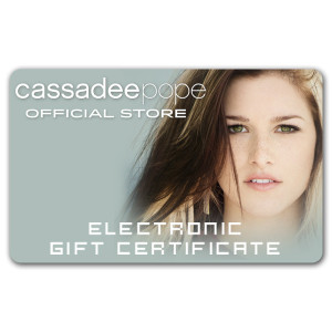 Cassadee Pope Electronic Gift Certificate