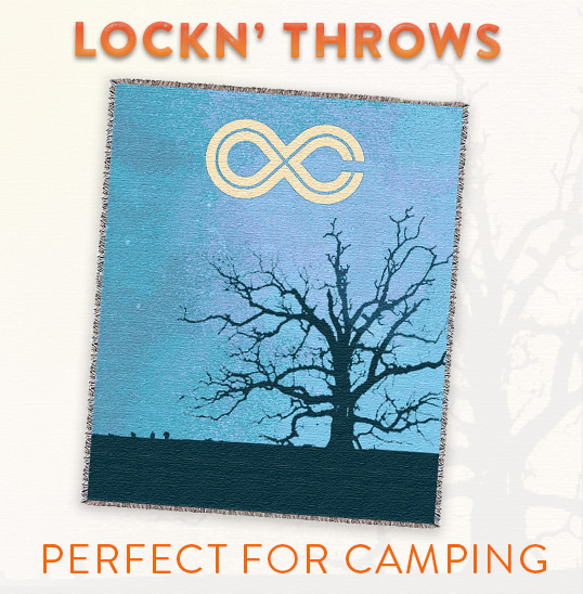 Lockn' Throws - Perfect For Camping!