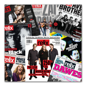 Relix Magazine Subscription - 1 Year