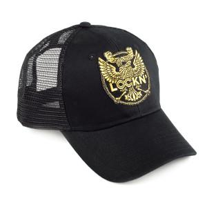Lockn' 2014 Double Headed Eagle Snapback Trucker Hat