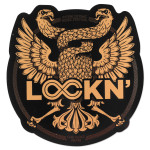 Lockn' 2014 Double Headed Eagle Sticker