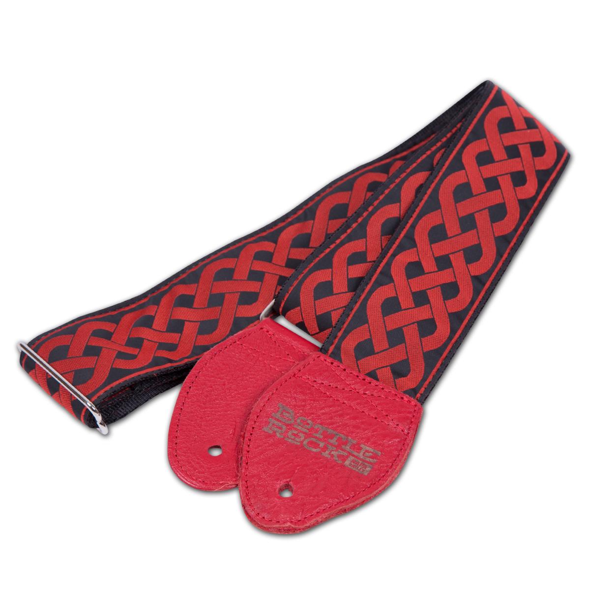 BottleRock Guitar Strap - Red