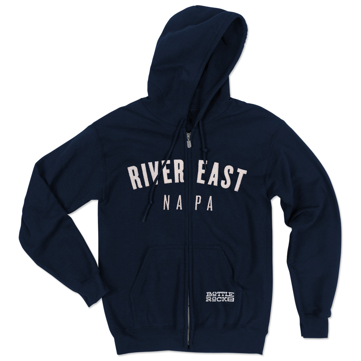 Bottle Rock Napa Valley Zip Hoodie - River East