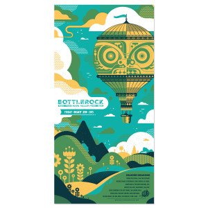 Bottle Rock 2015 Poster - Friday