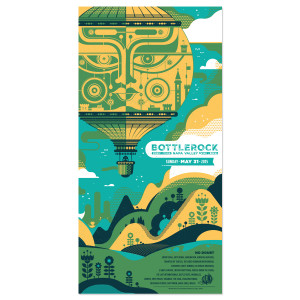 Bottle Rock 2015 Poster - Sunday