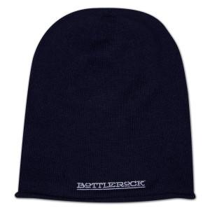 BottleRock Knit Hat - Navy