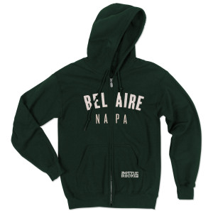 Bottle Rock Napa Valley Zip Hoodie - Bel Aire