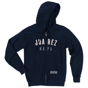 Bottle Rock Napa Valley Zip Hoodie - Juarez