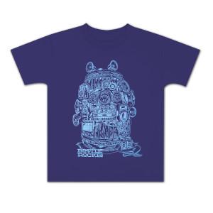 Bottle Rock Napa Valley Kid's Tee Girls – Purple