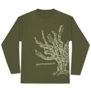 Bottle Rock Napa Valley Men's Olive Long Sleeve Shirt