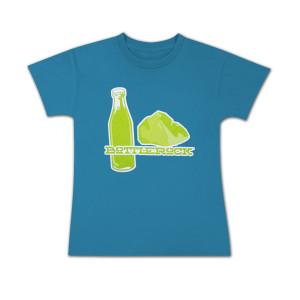 Bottle Rock Napa Valley Kid's Tee - girls – Turquoise