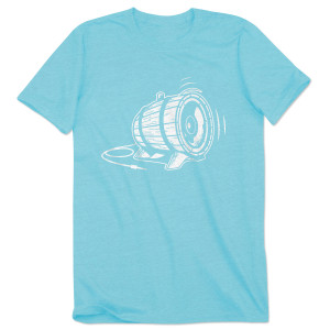 Bottle Rock Men's 2015 Festival Tee - Aqua