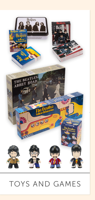 The Beatles Toys and Games