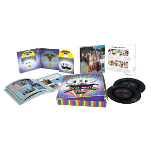 "The Beatles Magical Mystery Tour DVD/Blu-ray 10"" Collectors Box"