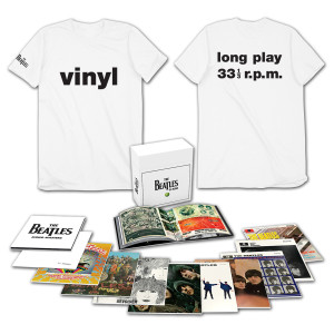 The Beatles In Mono Vinyl Box Set and FREE T-Shirt