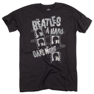 The Beatles Hard Day's Night Film Strips T-Shirt