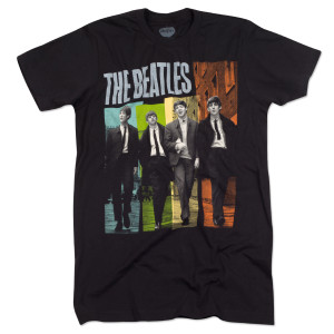 The Beatles Ties Color T-Shirt