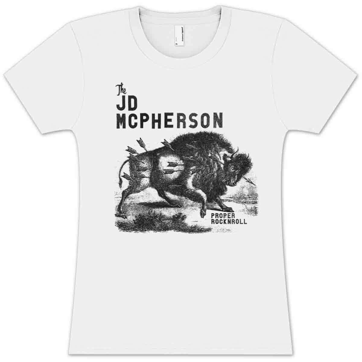 JD McPherson Bison Ladies T-Shirt