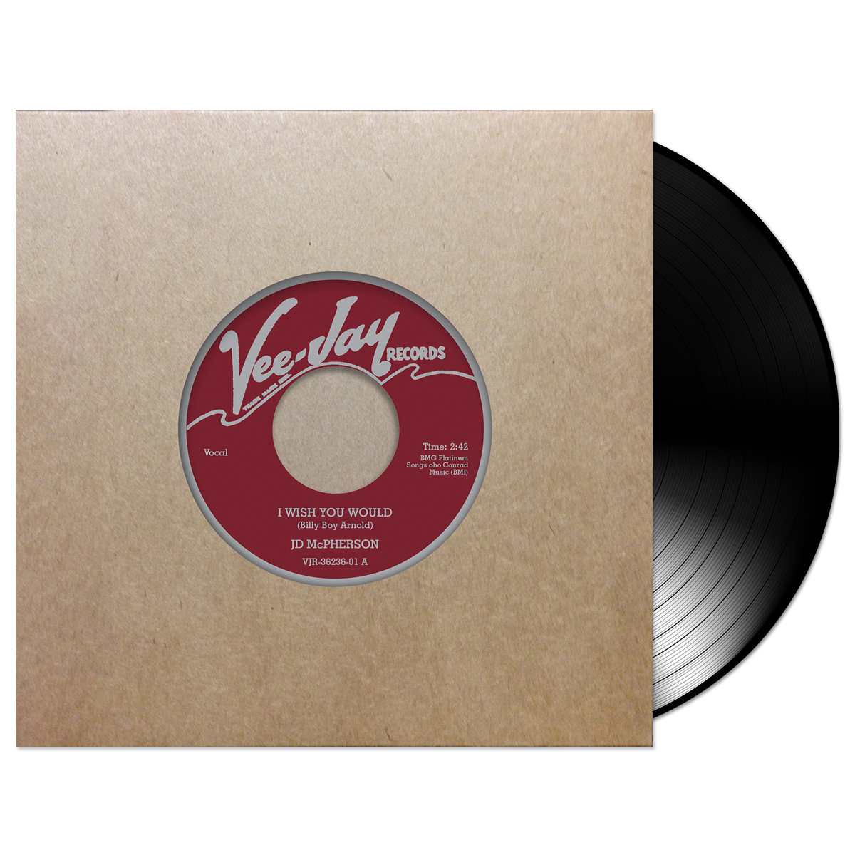 JD McPherson I Wish You Would Vinyl 45