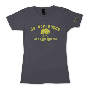 JD McPherson Let the Good Times Roll Women's T-Shirt