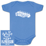 JD McPherson Rock and Roll Onesie