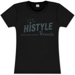"""JD McPherson """"Histyle American Music Records"""" Ladies T-Shirt"""