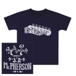 JD McPherson Rock and Roll Navy Toddler Tee