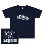 JD McPherson Rock and Roll Youth Tee - Navy