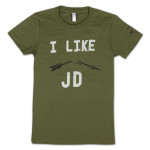 "JD McPherson ""I Like JD"" Ladies T-Shirt"