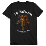 JD McPherson Scare the Squares T-Shirt