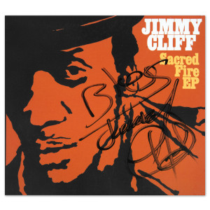 Jimmy Cliff - Sacred Fire CD (Signed)