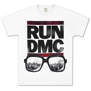 Run-DMC Glasses NYC T-Shirt