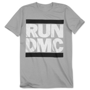 Run-DMC Greyscale Logo T-Shirt