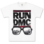 Run-DMC Glasses NYC T-Shirt
