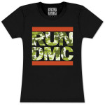 RUN DMC Camo Junior T- Shirt