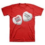 RUN DMC Candy Hearts T-Shirts