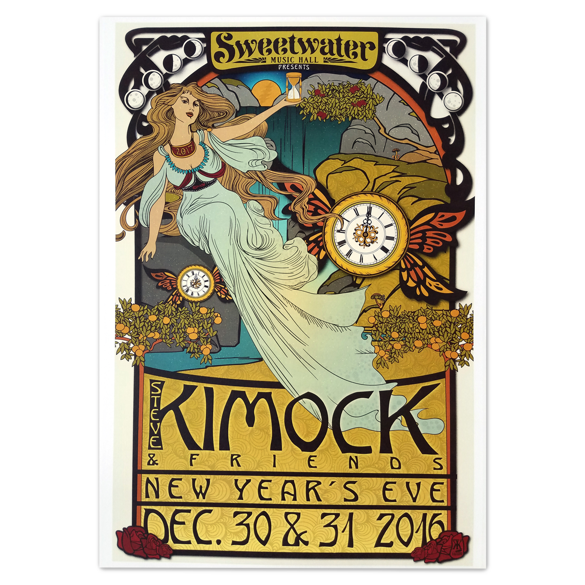 Kimock and Friends NYE Poster