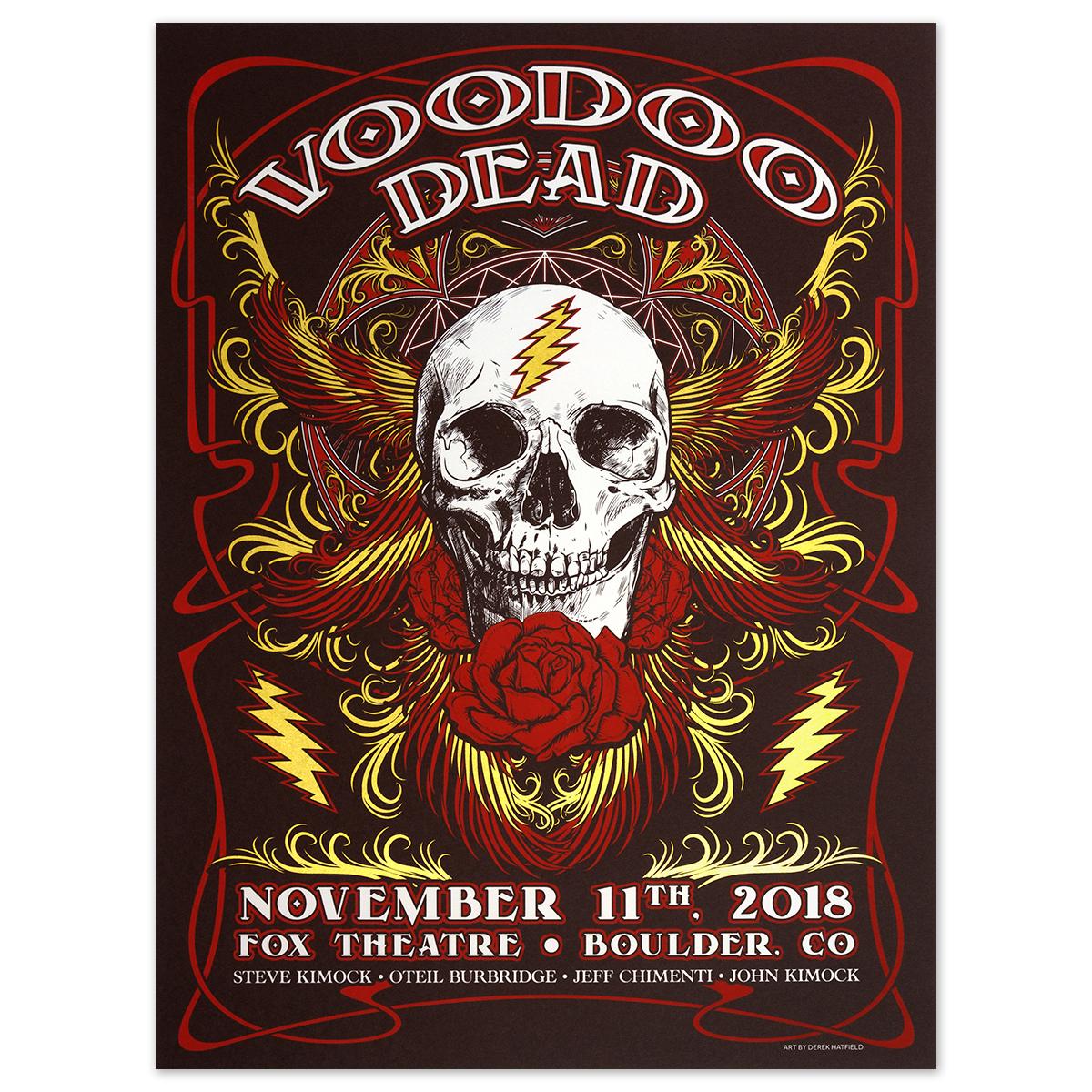 VOODOO DEAD at The Fox, Boulder, CO Nov. 11th, 2018