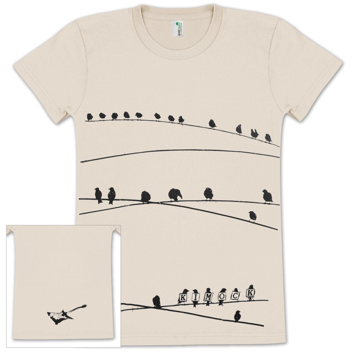 Steve Kimock Bird on Wire Womens T-Shirt
