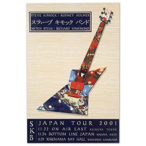 Steve Kimock Japan Tour 2001 Poster