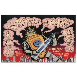 Steve Kimock Crazy Engine NYC 12/03/09 Poster
