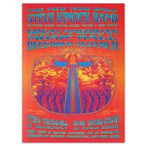Steve Kimock Great American Music Hall 12/28/05 Poster