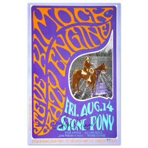 Steve Kimock Crazy Engine 8/14/09 SIGNED Poster