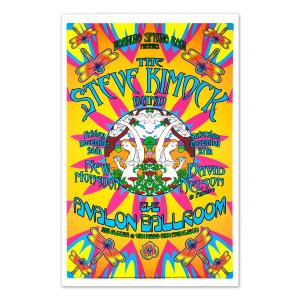 Steve Kimock Avalon Ballroom 12/26/03 Poster