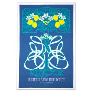 Steve Kimock Hurricane Sandy Relief Benefit II 2/23/13 Poster