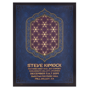 Steve Kimock December 2014 Sweetwater Silk Screen Poster