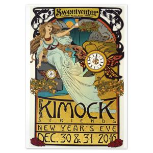 Kimock and Friends NYE Poster