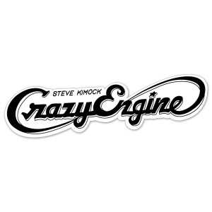 Steve Kimock Crazy Engine Sticker