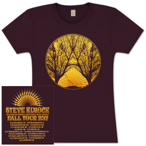 Steve Kimock Fall Tour 2012 Women's T-Shirt