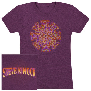 Steve Kimock – Mandala Design Ladies T-Shirt.